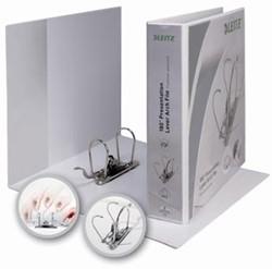Esselte presentatie ringband Premium 2 D-ringen wit 25 mm