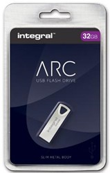 Integral ARC USB stick 2.0, 32 GB, zilver