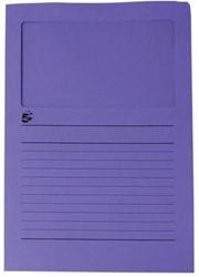 A4 (22x31 cm) Uit karton van 120 g/m2                    Paars