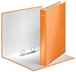A4 ringmap Leitz met 2D-ringen in het oranje