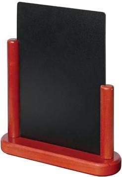 Tafelkrijtbord A5 mahonie Securit Elegant