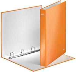 A4 ringband 4D-ringen Leitz in het oranje