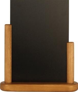 Krijtbord tafel A5 teak+C15955C1594C15946:C15957