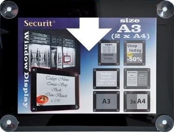 Posterframe A3 Securit Vitrine