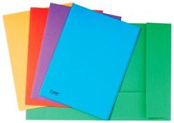 Dossiermap 2 kleppen geassorteerde kleuren