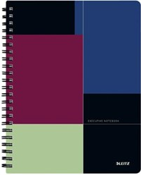 Leitz Executive notitieboek Get Organised, ft A4, gelijnd