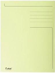 Dossiermap A4 geel