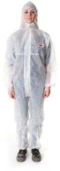 3M beschermende coverall wit large