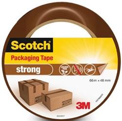 Scotch verpakkingsplakband Classic, ft 48 mm x 66 m, bruin, per rol