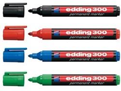 Edding stift 300 permanent marker geassorteerde kleuren