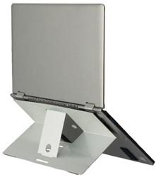 R-Go Riser laptopstandaard antislip, zilver