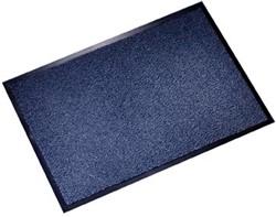 Floortex deurmat Dust Control ft 60 x 90 cm, blauw