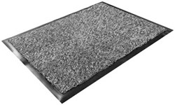 Floortex deurmat Dust Control ft 60 x 90 cm, grijs