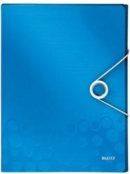 Leitz Elastobox Wow rug 3 cm blauw