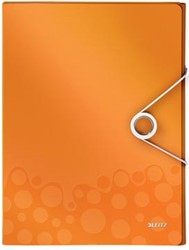 Leitz Elastobox Wow rug 3 cm oranje