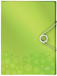 Leitz Elastobox Wow rug 3 cm groen