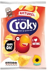 Croky Chips naturel