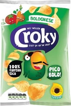 Croky chips bolognese zakje van 100 g
