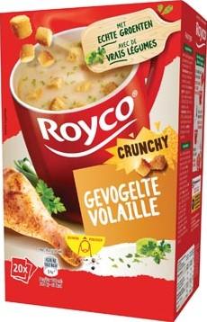 Royco Minute Soup gevogelte + korstjes