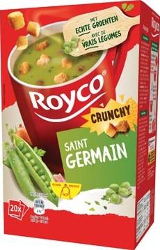 Royco Minute Soup St. Germain + korstjes