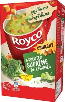 Royco Minute Soup groentensuprême + korstjes