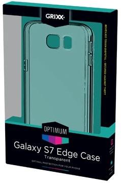Grixx Optimum case voor Samsung Galaxy S7 Edge transparant