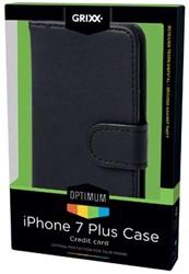 Grixx Optimum case voor Apple iPhone 7 Plus, zwart