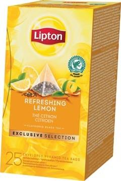 Lipton thee, Citroen, Exclusive Selection, doos van 25 zakjes