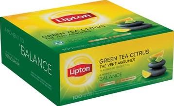 Lipton thee Green Tea Citrus zakjes