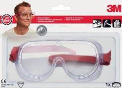 3M veiligheidsbril, anti-impact, transparant, blisterverpakking