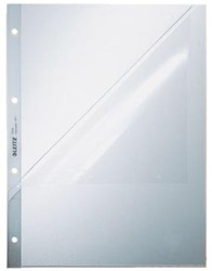 Leitz showtas A4 120 micron 2 zijden open (L-model) 4-gaats 100 stuks