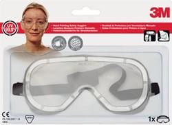 3M veiligheidsbril, anti-splash, transparant, blisterverpakking