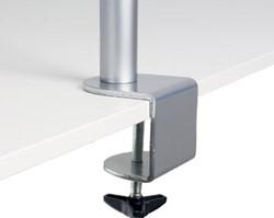R-Go Basic monitorarm voor 1 beeldscherm, zilver