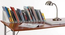 Boekenstandaard met 10 verstelbare tussenschotten