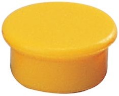 Dahle magneten diameter 13 mm, geel