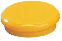 Dahle magneten diameter 24 mm, geel