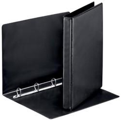 Esselte Presentatie ringband met 4D-ringen van 20 mm in zwart