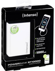 Intenso Powerbank Softtouch wit 10000 mAh
