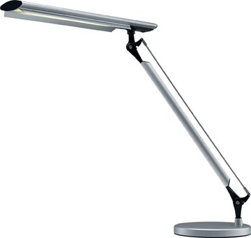 Hansa bureaulamp Grafilux, LED-lamp, aluminium