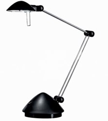 Hansa bureaulamp Madrid, LED-lamp, zwart