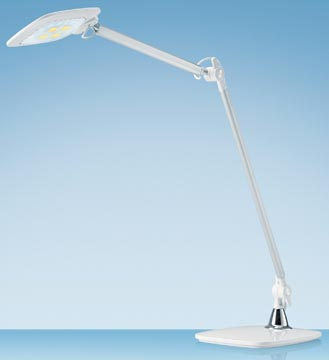 Hansa bureaulamp E-Motion, LED-lamp, wit
