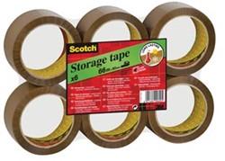 Scotch Verpakkingstape 50mm x 66m voor opslag bruin