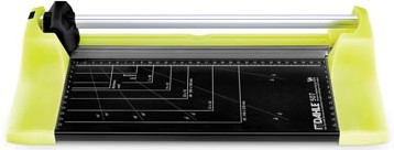 Dahle rolsnijmachine 507 voor A4 capaciteit: 8 vel groen