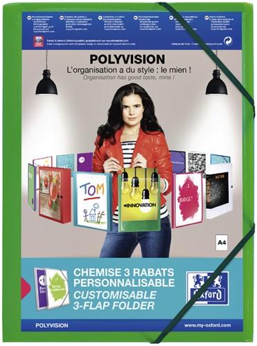 Modling elastomap Polyvision groen