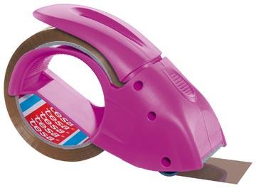 Tesa afroller voor verpakkingsplakband van maximum 50 mm, roze