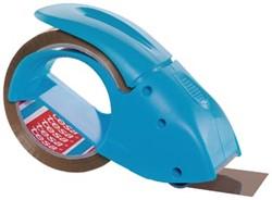 Tesa afroller voor verpakkingsplakband van maximum 50 mm, blauw