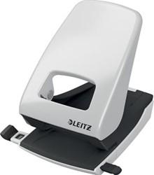 Leitz NeXXt sterke metalen bureau perforator, 2-gaats, perforeert 40 vel, grijs