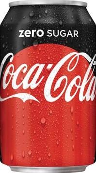 Coca-Cola Zero blik 33cl pak van 30 stuks