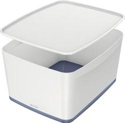 Leitz MyBox opbergdoos met groot deksel, wit