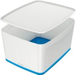 Leitz MyBox opbergdoos met groot deksel, blauw